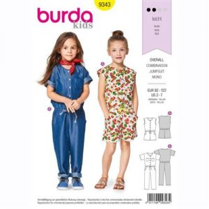 Burda patroon 9343 jumpsuit