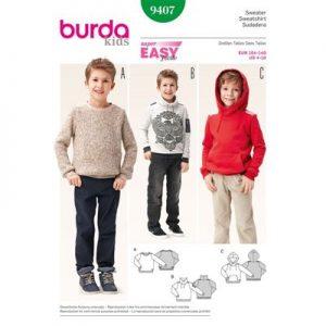 Burda patroon 9407 sweater