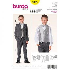 Burda patroon 9433 kostuum