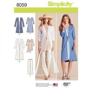 Simplicity patroon 8059 combinatie