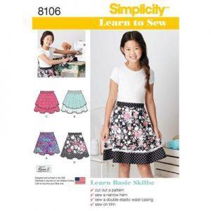 Simplicity patroon 8106 rok