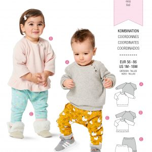 Burda patroon 9312 combinatie