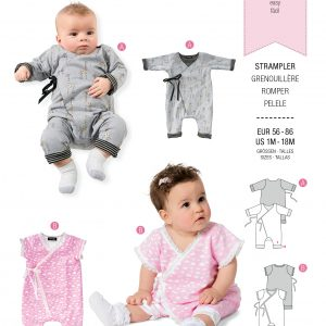 Burda patroon 9314 romper