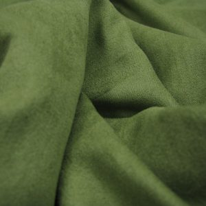 Suedine groen Editex