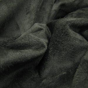 Zwarte stretch suedine Arella