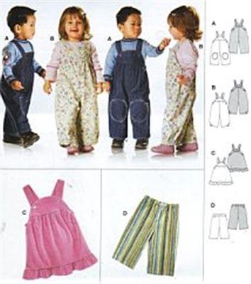 Burda patroon 9772 broek en jurk