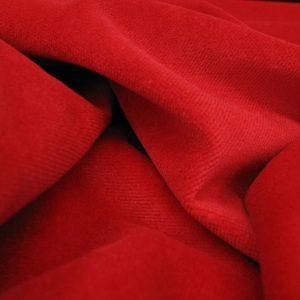 Velours rood zware kwaliteit