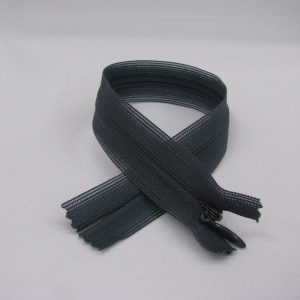 Blinde rits 25 cm donker grijs